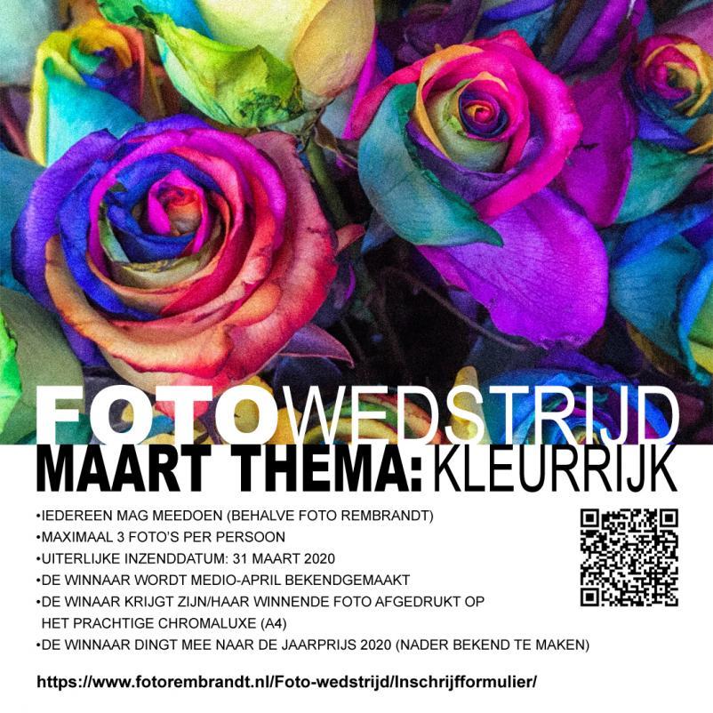 Maart Fotowedstrijd: Kleurrijk!