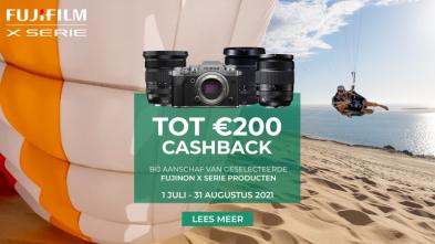 Fujifilm Zomer Cashback tot €200