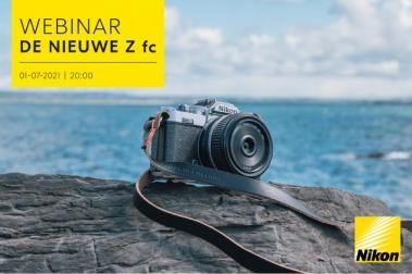 Nikon Z fc Introductie Webinar