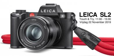 Touch & Try: Leica SL2!