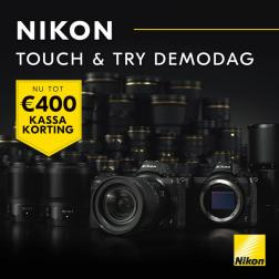 Nikon Touch & Try!