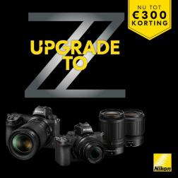 Upgrade to Nikon Z campagne!