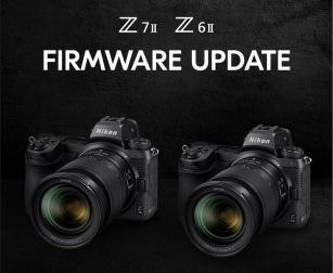 Nikon Z6 II en Z7 II Firmware update