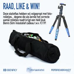 Benro Giveaway: Raad, Like & Win!