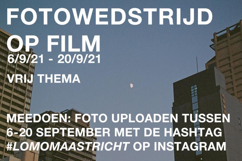 Fotowedstrijd op FILM - 6 t/m 20 september 2021