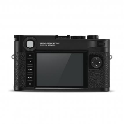Leica M10-R body black chrome finish