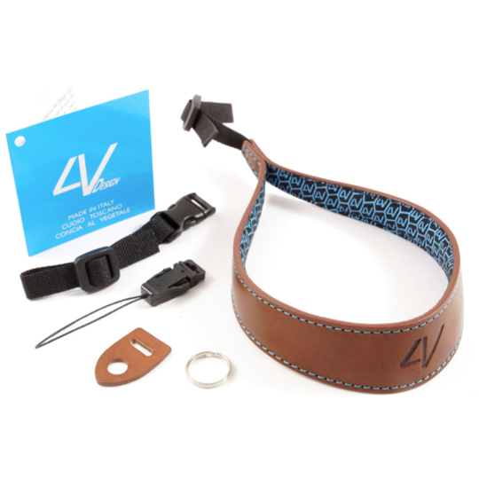 4V-Design-Ergo-Medium-Wrist-Strap-Brown-Cyan