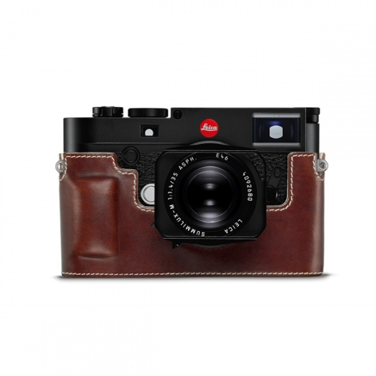 Leica-Protector-leather-Brown