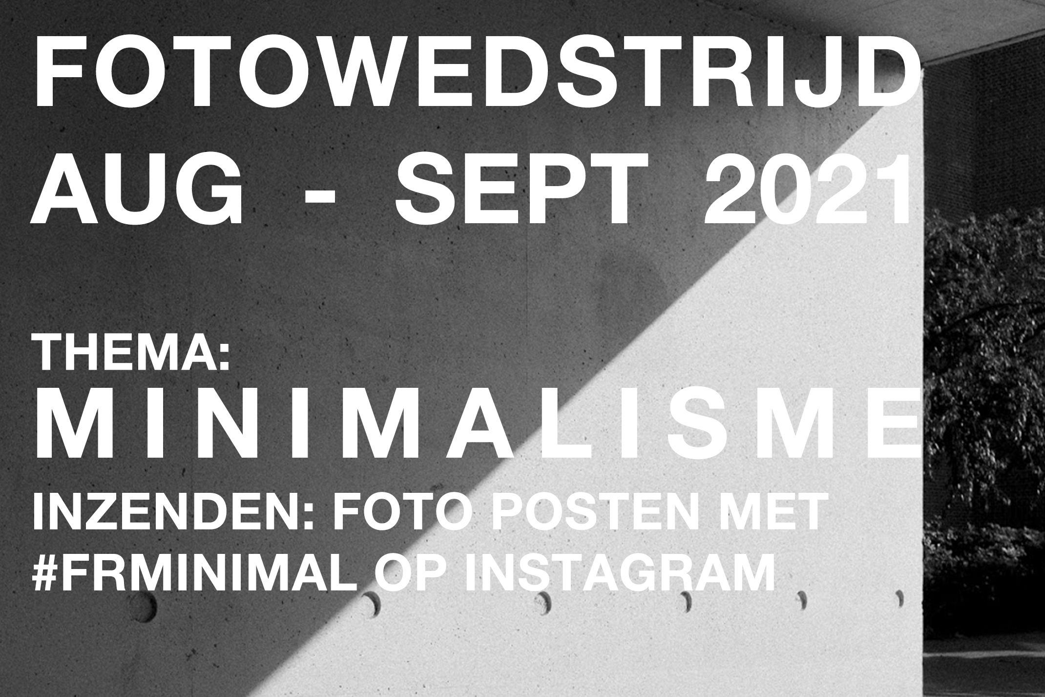 Fotowedstrijd Minimalisme